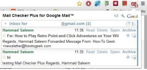 mail checker - a gmail app